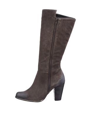 Buffalo London 20478-900 SPLIT SUEDE 126285 - Botas fashion de cuero para mujer (Gris)