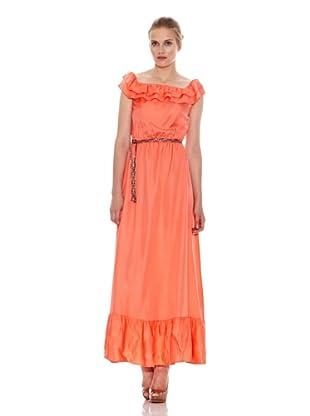 Naf Naf Vestido Sin Mangas Clémence (Naranja)