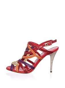 STEPHANE KELIAN Women's Opera Sandal (Red)