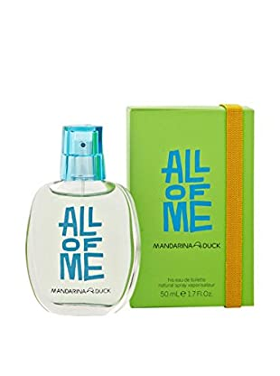 Mandarina Duck Eau de Toilette Herren All Of Me 50.0 ml, Preis/100 ml: 23.98 EUR