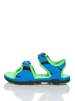 Nike Chanclas Santiam 5 (Td) (Azul / Verde)