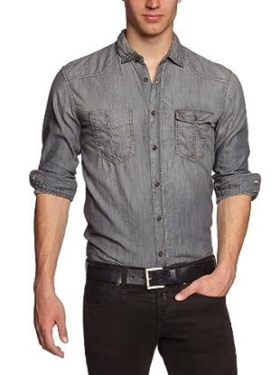 Tom Tailor Camisa Canazei (Gris)