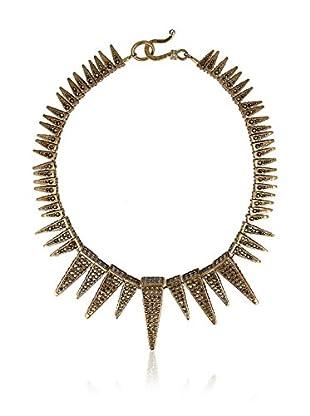 Otazu Collar  Dorado / Gris