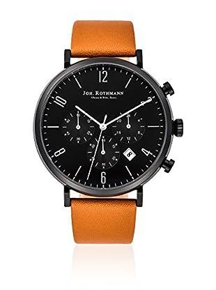 Joh. Rothmann Reloj con movimiento cuarzo japonés 10030041 Cognac 42 mm