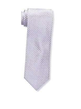 Bruno Piattelli Men's Microneat Silk Tie, Lilac