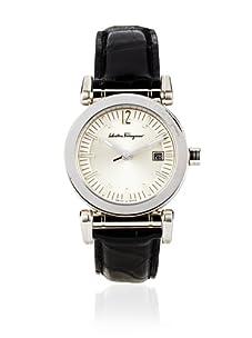 Salvatore Ferragamo Men's Salvatore Salvatore Silver/Black Stainless Steel Watch