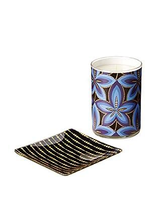 Mudlark Selene 10.5-Oz. Candle & Glass Dish