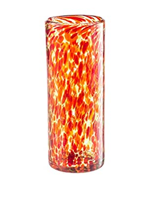 Nuvo Glass Vase, Salsa Speckled