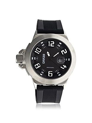 Breed Men's BRD6102 Alpha 2 Black Polyurethane Watch