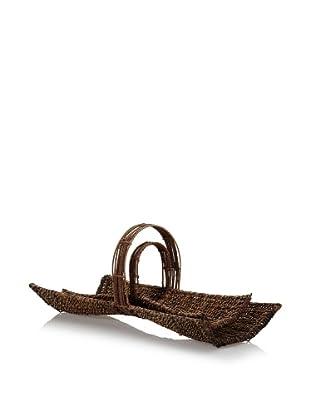 Padma's Plantation Set of 2 Bow Tie Nesting Baskets (Abacá Twist)
