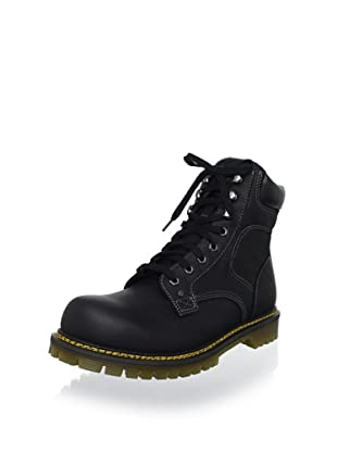 Dr. Martens Men's Joel 8-Eye Motorcycle Boot (Black)