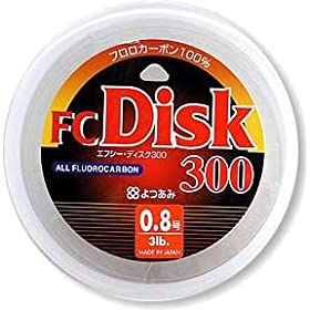 【クリックで詳細表示】Amazon.co.jp | よつあみ(YGK) FC Disk(ディスク) 300m 3lb(0.8号) | スポーツ&アウトドア 通販