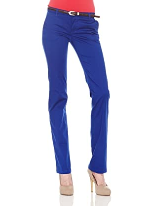 Salsa Pantalón Chino Clásico (Azul)