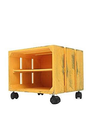 LO+DEMODA Beistelltisch Box H gelb