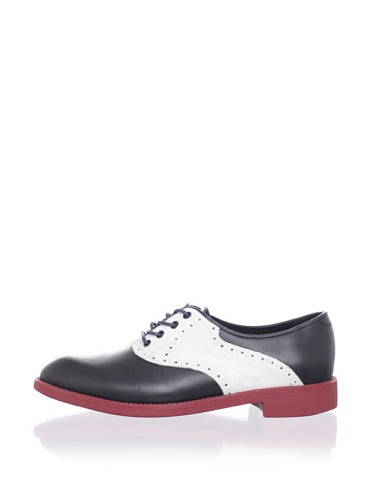 Swear  Women's Women's Saddle Shoe (Navy/White)