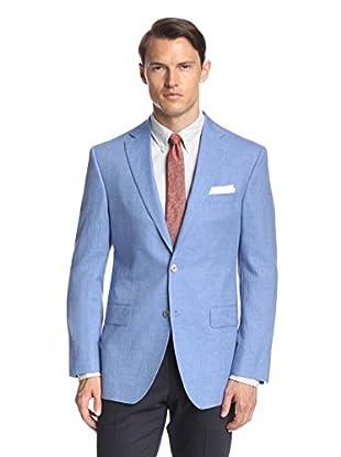 Lanza Men's Textured Solid Sportcoat