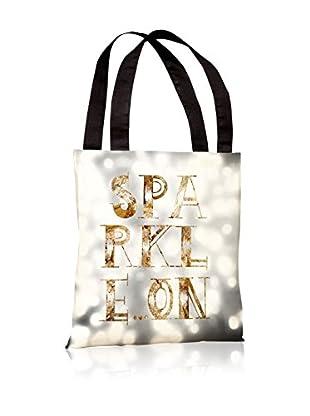 Oliver Gal Sparkle On Tote Bag, Gray/Multi