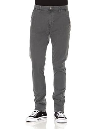 Nudie Jeans Pantalón Khaki Slim (Gris)