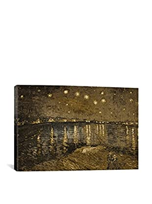 Starry Night Over The Rhone I Gallery Wrapped Canvas Print