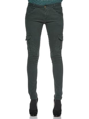 Kate Cut Pantalone Cargo (Verde)