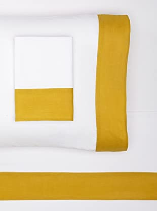 Nine Space Viscose from Bamboo Sheet Set (Gold)