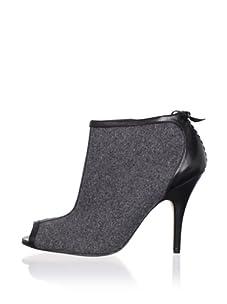 Delman Women's Ember Bootie (Grey/Black)