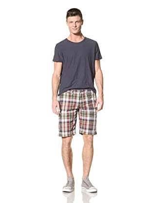 Just a Cheap Shirt Men's Bermuda (Navy/Green/Red)