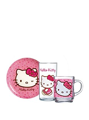 Set 3 Piezas Modelo Hello Kitty Sweet Pink