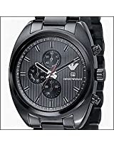 EMPORIO ARMANI CHRONOGRAPH MEN'S WATCH AR5913 BLACK