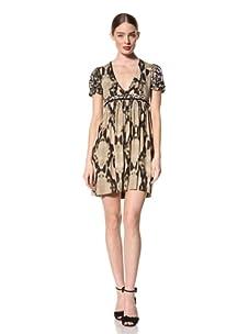 Just Cavalli Women's Empire Waist Snake Dress (Snake Print)