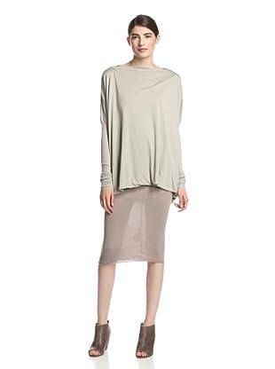 Rick Owens Lilies Women's LI 1200/LDT-Shirt (Pearl)