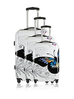 Travel ONE Set de 3 trolleys rígidos Liberia2 Multicolor
