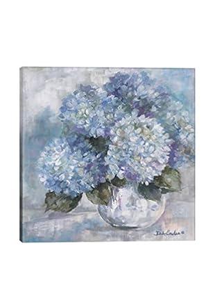 Debi Coules Hydrangea Blues Canvas Print