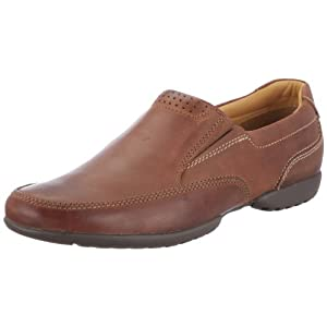 Recline Free Tan Leather Mens Shoes