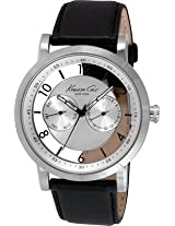 Kenneth Cole Dress Sport Analog Silver Dial Mens Watch-IKC8081