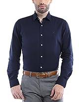 Allen Solly Men Comfort Fit Shirt_ATSF1S01614_44_Blue