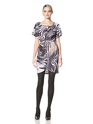 Yoana Baraschi Women's Tiger Luxe Jersey Dress (Grey/Multi)