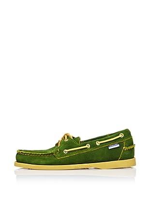 Sebago Zapato Náutico Ante (Verde)