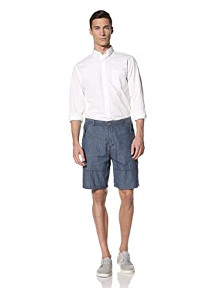 White Picket Fences Men's Almont Chambray Shorts (Chambray)