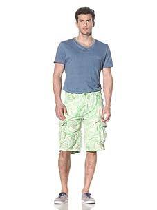 Jet Lag Men's Allessandro Short (Grass Green)