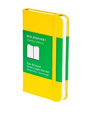 Moleskine Cuaderno Notas Hojas Lisas Amarillo Oro