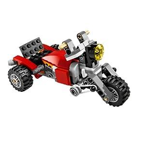 LEGO赤いロボット