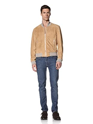 BLK DNM Men's Suede Jacket 7 (Sand)