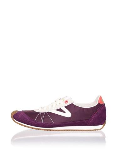 Tretorn Women's Reva Nylon Sneaker (Prune Purple)