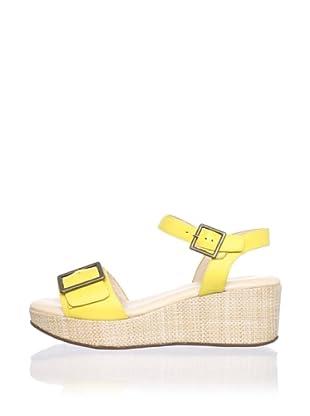 Cordani Women's Curtis Platform Sandal (Yellow)