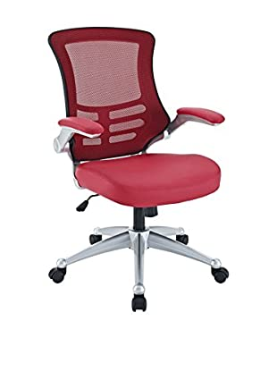 Modway Attainment Office Chair, Red