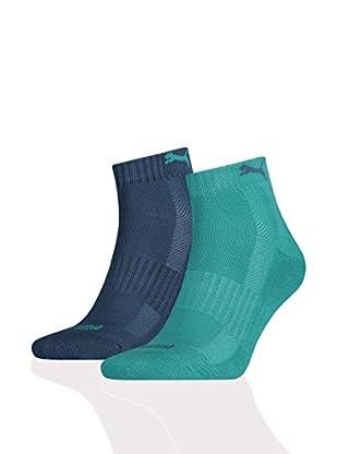 Puma 12tlg. Set Socken Cushioned Quarter Unisex