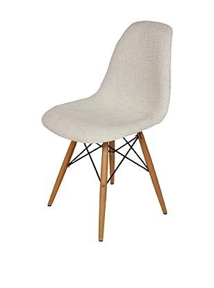 Stilnovo Ansgar Side Chair, Beige/Wood