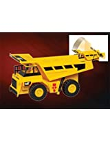 Cat Dump Truck W/LIGHT & Sound W/FIGURE