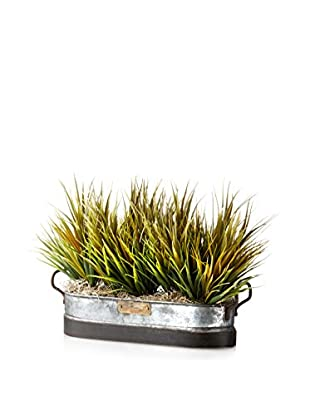 Creative Displays Grass in Oblong Tin